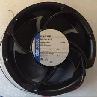 ebmpapst 6314/2TDHHP DC 24V 67W Axial Ball Bearing Fan