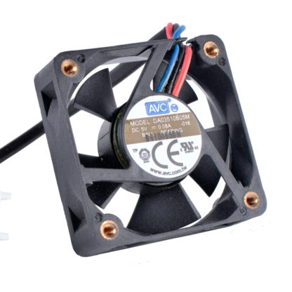 AVC DA03510B05M 5V 0.08A 3wire double ball bearing cooling fan