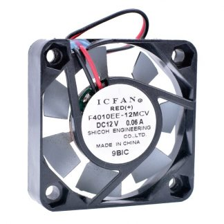ICFAN F4040EE-12MCV 12V 0.06A North and South Bridge mini chassis silent fan Metal cooling fan