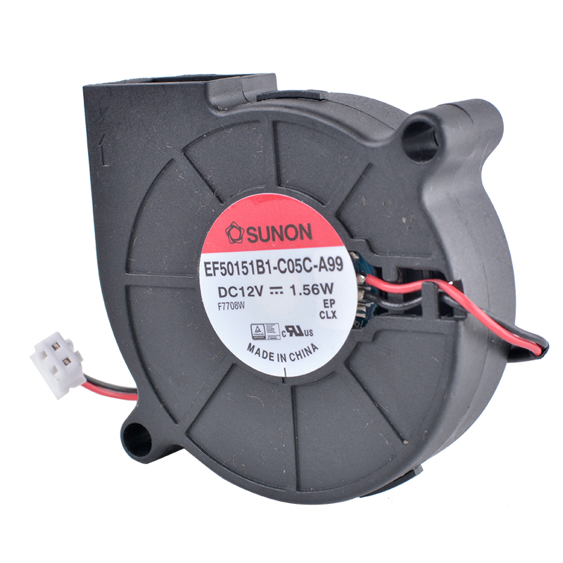 SUNON EF50151B1-C05C-A99 12V 1.56W turbine blower cooling fan