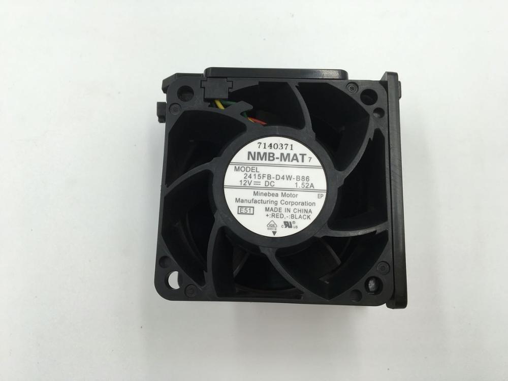 NMB 2415FB-D4W-B86 12V 1.52A dual ball bearing fan
