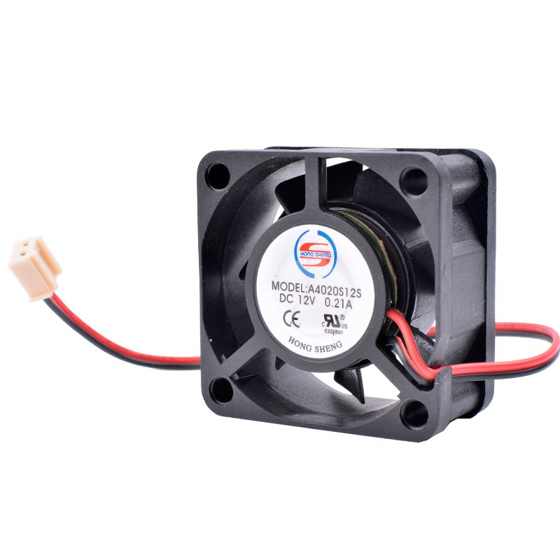 Cooling A40S12S 12V 0.21A 2-Pin Mini Fan