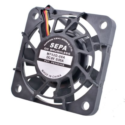 SEPA MF52D-08A DC8V 0.05A 8V silent cooling fan