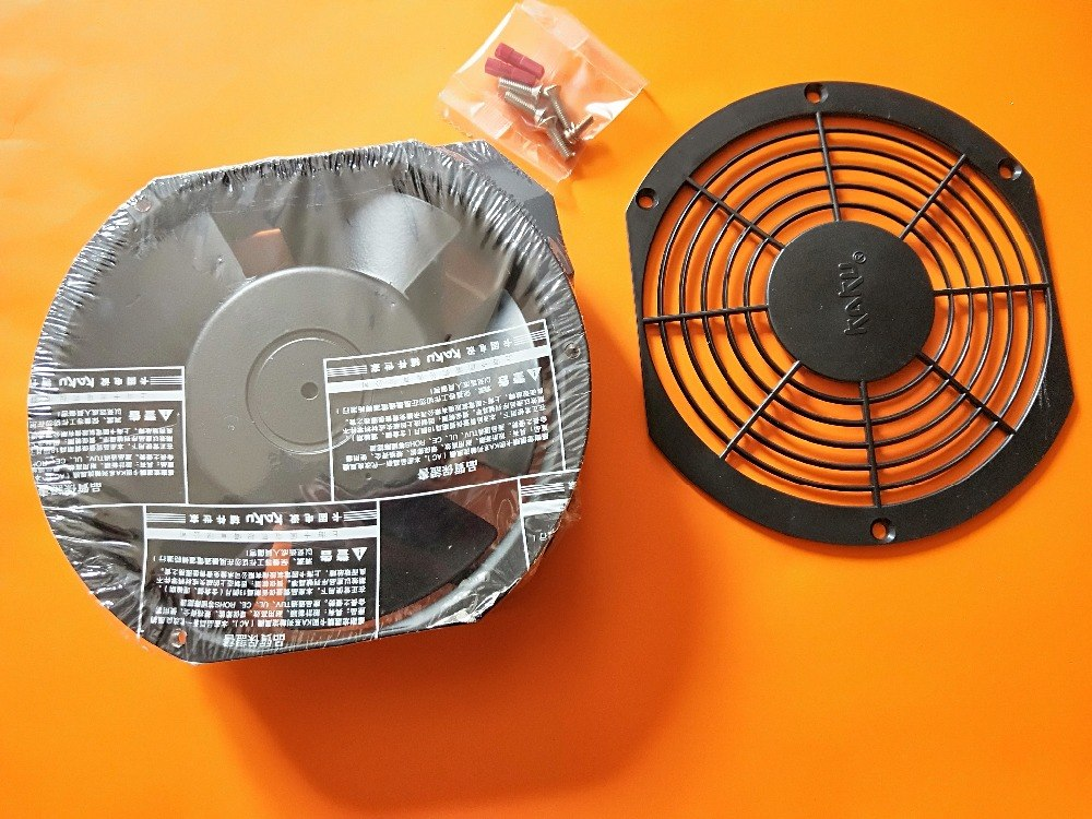 KAKU KA1725HA2  AC220V full metal axial flow cooling fan