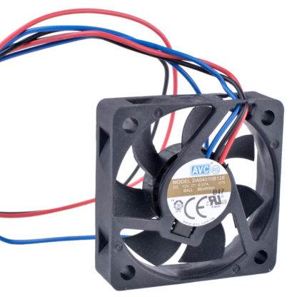 AVC DA04010B12E DC12V 0.07A Double Ball Bearing Fan