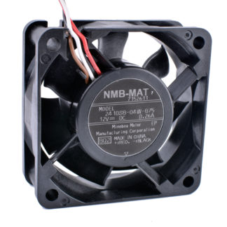 NMB 2410SB-04W-B75 DC12V 0.26A 4wire double ball bearing fan