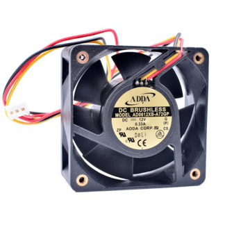 ADDA AD0612XB-A72GP DC12V 0.33A DC Brushless fan