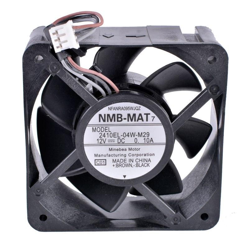 NMB 2410EL-04W-M29 DC12V 0.10A Silent cooling fan