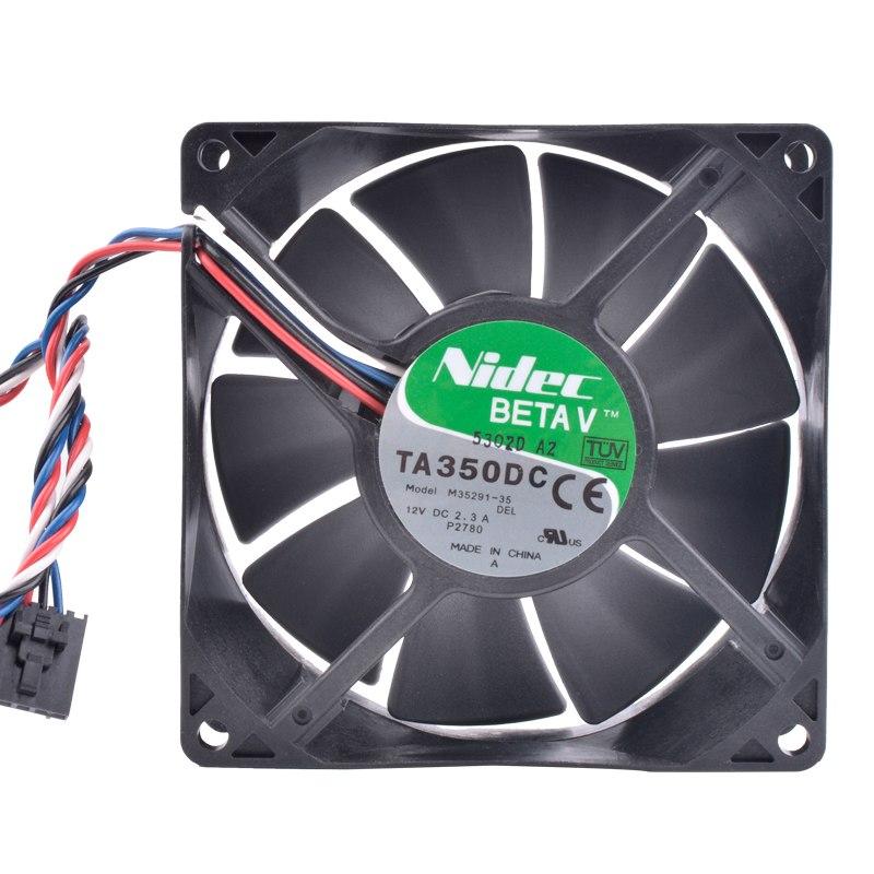Nidec M35291-35 12V 2.3A double ball bearing  server cooling fan