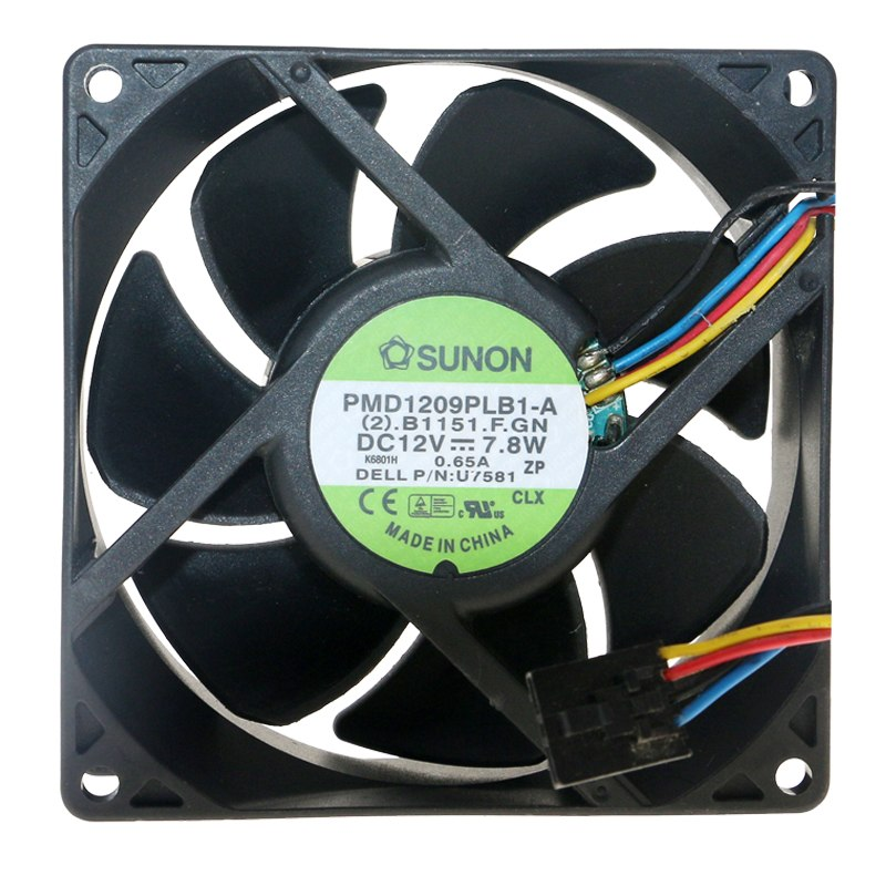 SUNON PMD19PLB1-A  DC 12V 7.8W chassis cooling fan