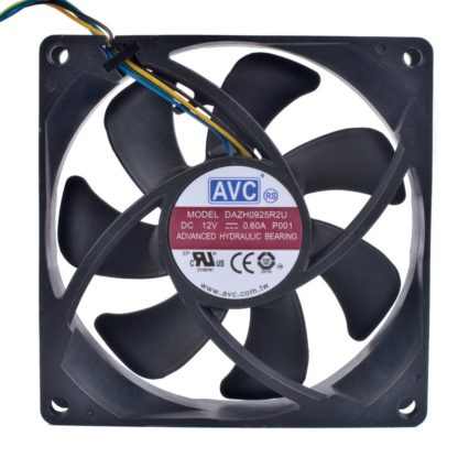 AVC DAZH0925R2U 12V 0.60A 4pin PWM high volume air cooling fan
