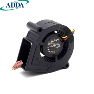 ADDA AB05012dx0600 DC12V 0.15A hypro bearing cooling fan