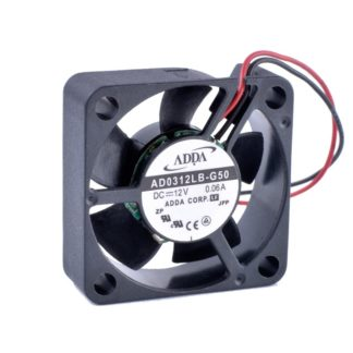 ADDA AD0312LB-G50 12V 0.06A Double ball bearing cooling fan