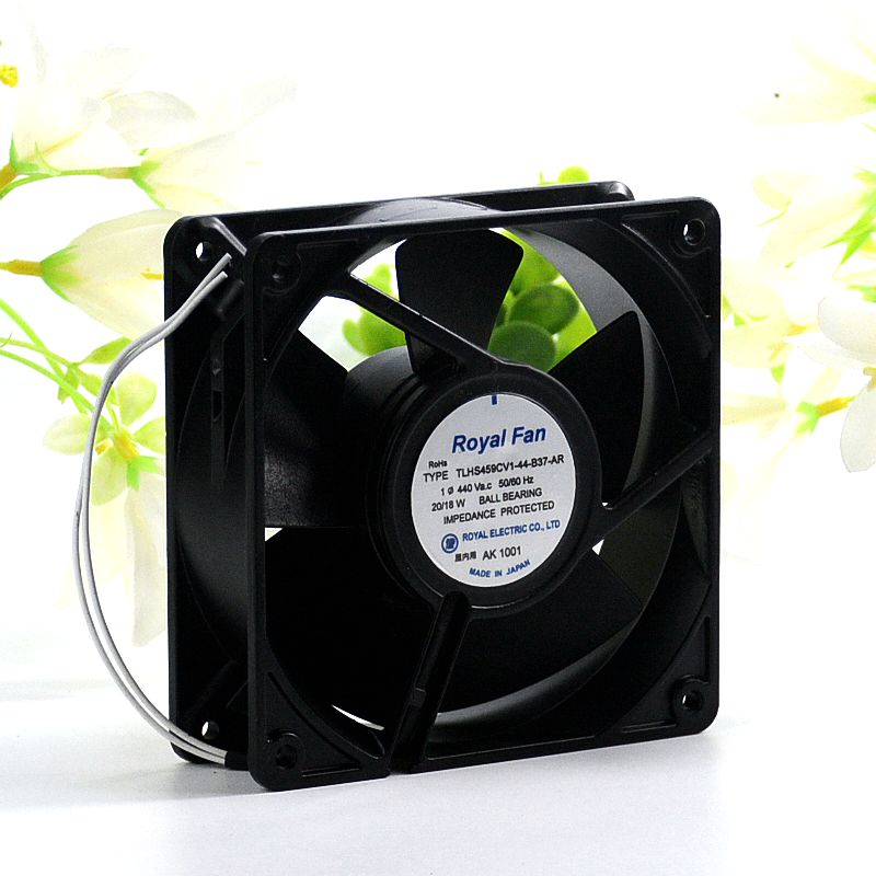 Royal Fan TLHS459CV1-44-B37-AR 440VAC 18W cooling fan