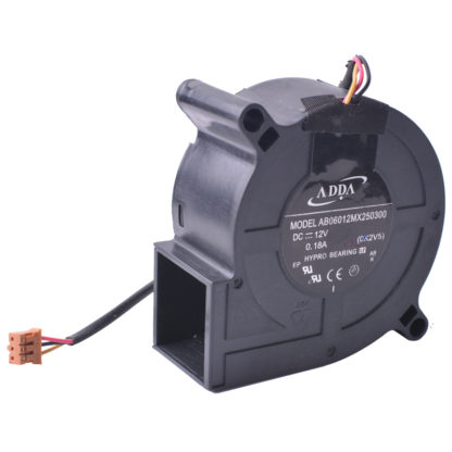 ADDA AB06012MX250300 DC12V 0.18A BenQ Projector Cooling Fan