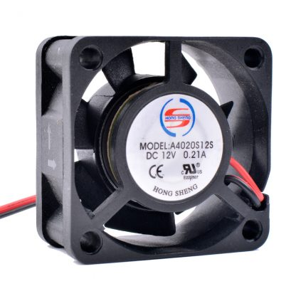 Cooling A40S12S 12V 0.21A 2-Pin Mini Fan