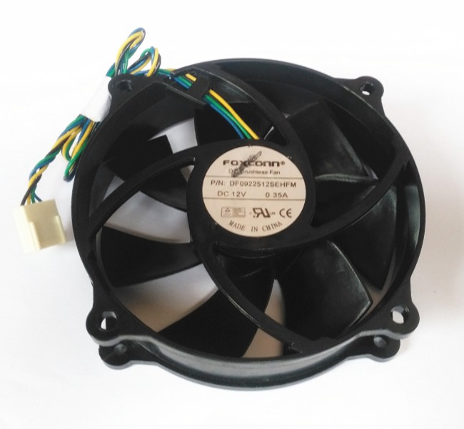 FOXCONN DF0922512SEHFM 0.35A 12V Hydraulic cooling fan