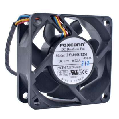 FOXCONN PVA06G12M DC12V 0.22A DC Brushless cooling fan