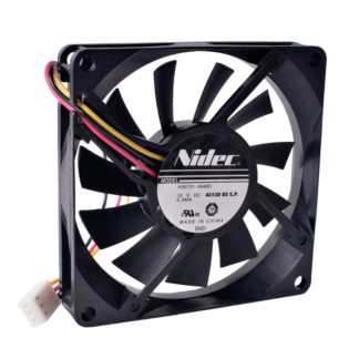 Nidec H35731-55MEI 12V 0.045a 8cm ultra-thin cooling fan.