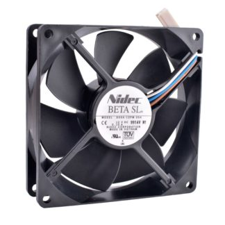 Nidec D09A-12PM 05A DC12V 0.10A Double ball bearing fan