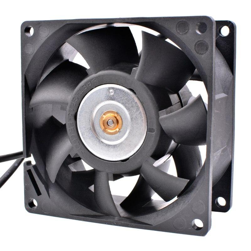 Delta FFC0812DE 12V 1.80A Dual ball 4-wire PWM flow cooling fan