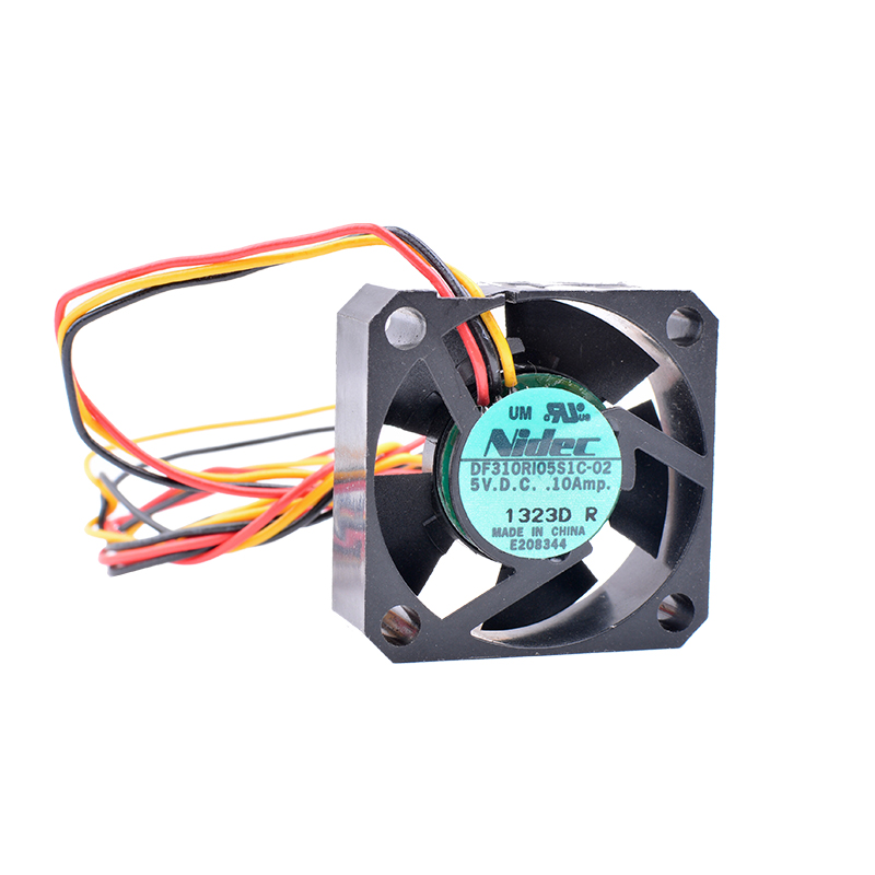 Nidec DF310RI05S1C-02 DC5V 0.10A small instrument equipment cooling fan