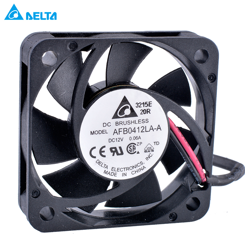Delta AFB0412LA-A DC12V 0.06A Double ball bearing cooling fan
