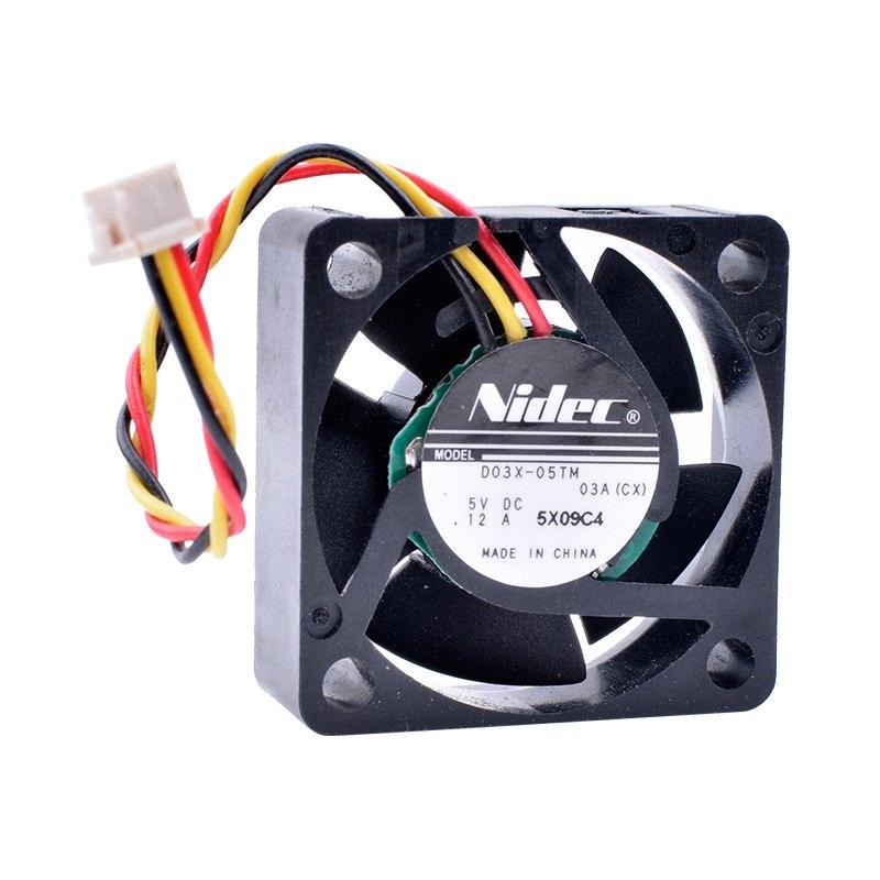 Nidec D03X-05TM DC5V 0.12A Miniature Cooling Fan
