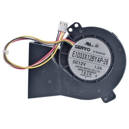 SERVO E1033X12BYAP-26 DC12V 1.A turbo blower cooling fan