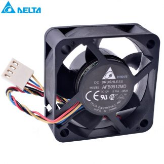 DELTA AFB0512MD 12V 0.11A 4-wire double ball bearing cooling fan
