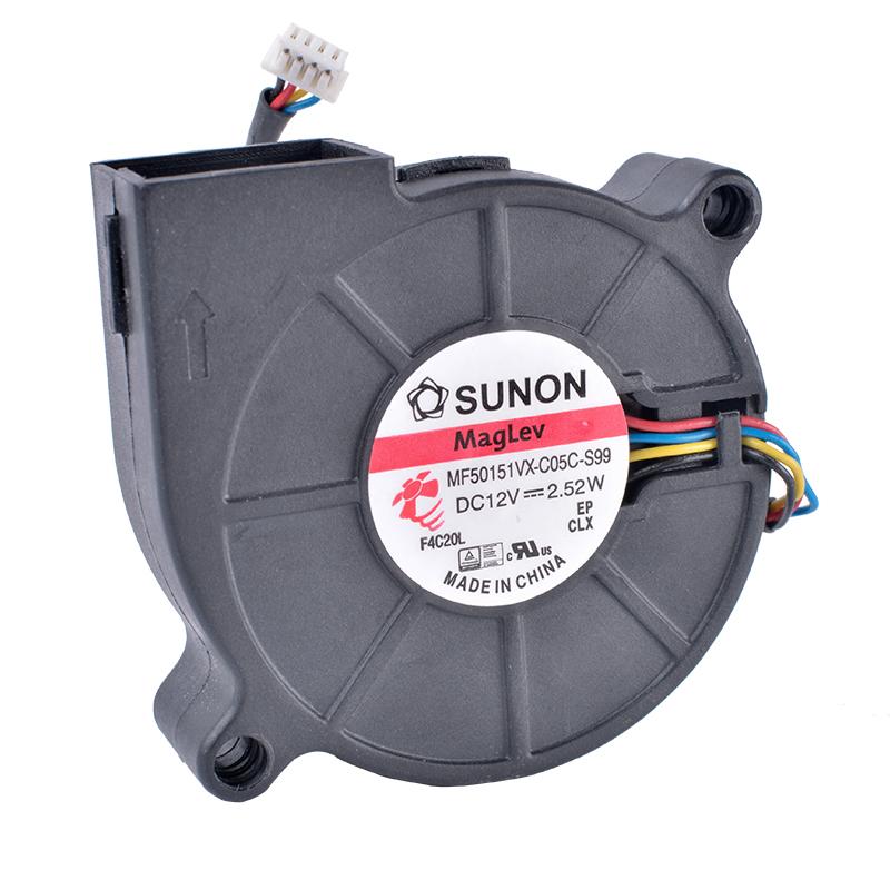 SUNON MF50151VX-C05C-S99 12V 2.52W 4-wire turbine blower fan