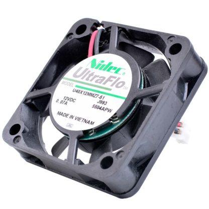 Nidec U40X12MMZ7-51 12V 0.07A Small quiet cooling fan