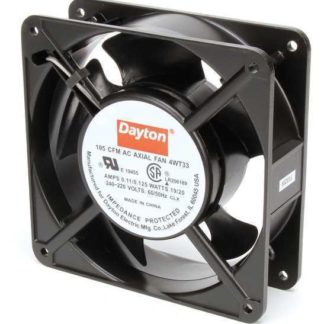 "DAYTON 4WT33 230VAC 4-11/16"" Square Axial cooling Fan"