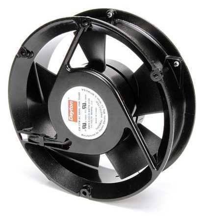 """DAYTON 3VU69 115VAC 6-3/4"""" Round Axial cooling Fan"""