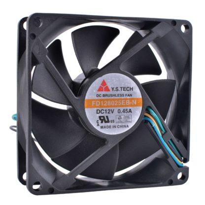 Y.S.TECH FD128025EB-N DC12V 0.45A cooling fan
