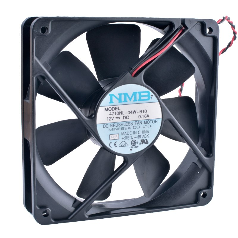 NMB 4710NL-04W-B10 12V 0.16A double ball bearing mute cooling fan