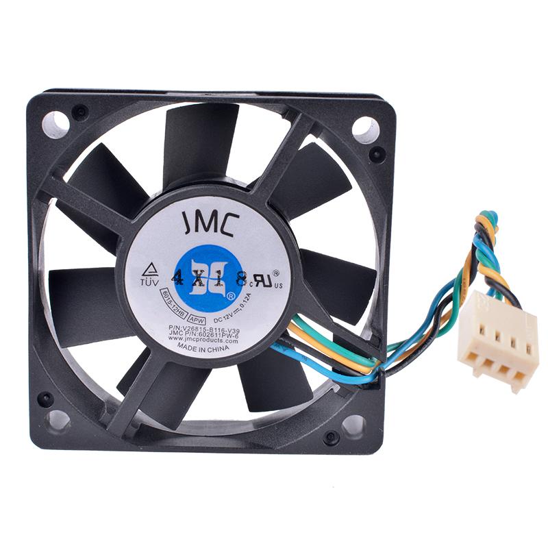JMC 6015-12HB DC12V 0.12A 4-wire CPU cooling fan