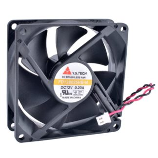 Y.S.TECH FD128025HB-N DC12V 0.20A Double ball bearing Brushless fan