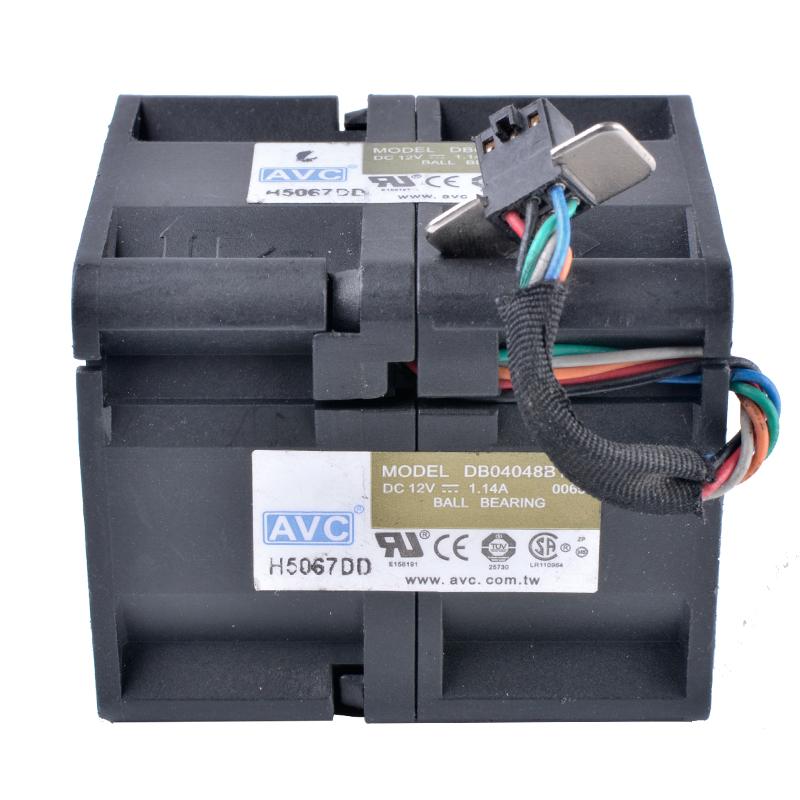 AVC DB04048B12U DC12V 1.14A ball bearing cooling fan