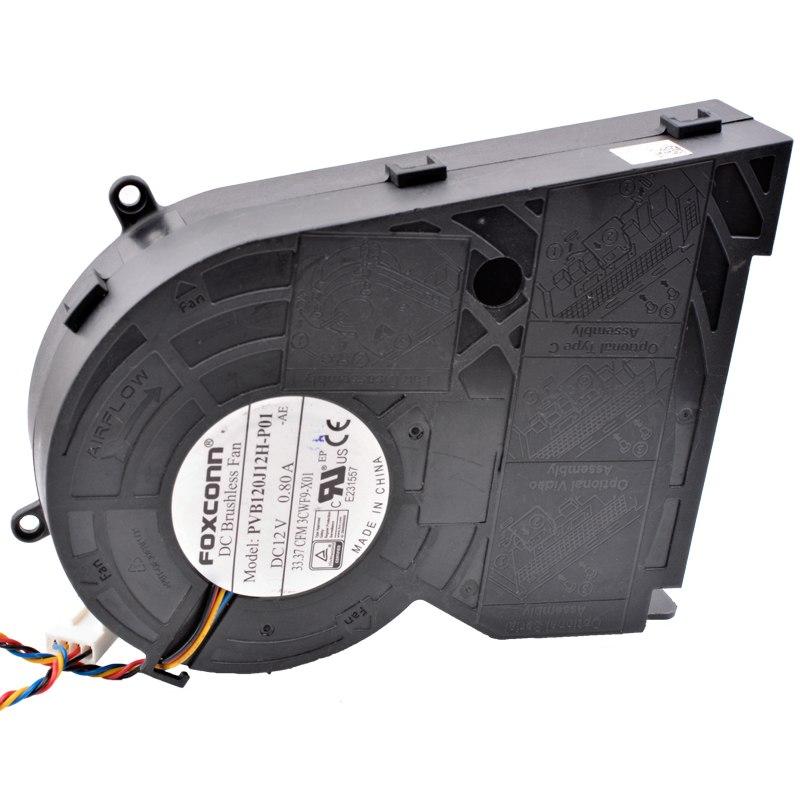 FOXCONN PVB1J12H-P01 DC12V 0.80A projector Brushless fan