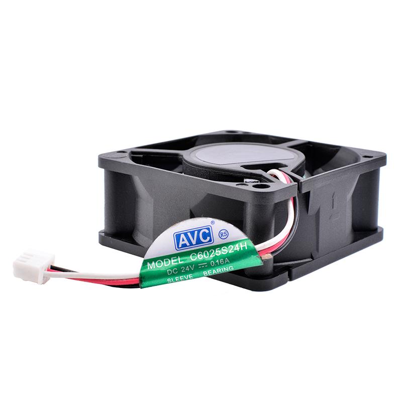 AVC C6025S24H DC24V 0.16A inverter cooling fan