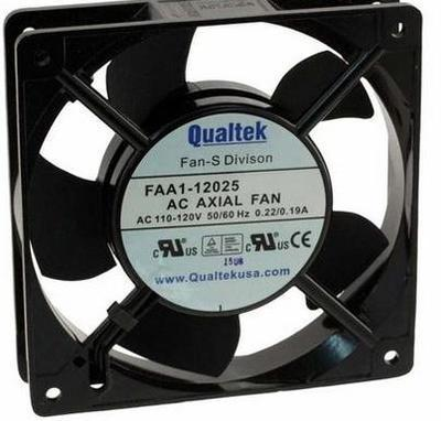 Qualtek FAA1-125NBMW31 115VAC  AC axial cooling fan