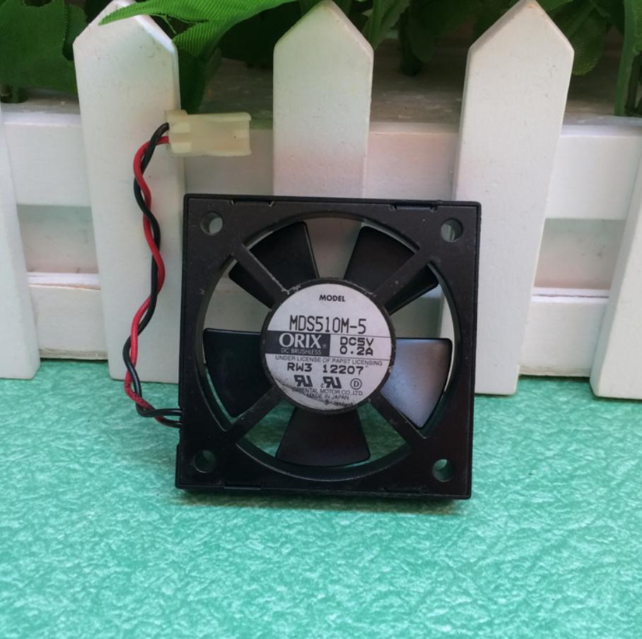 ORIX MDS510M-5-F4 5V 0.2A 2wire ball cooling fan