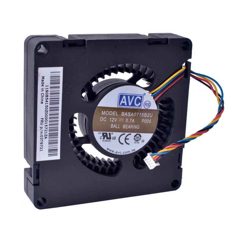 AVC BASA0715B2U 12V 0.70A ball bearing cooling fan