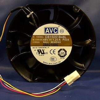 AVC DB15051B48L P004 DC48V 1.20A  BALL BEARING FAN