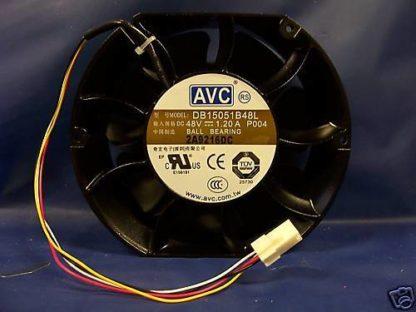 AVC DB15051B48L P004 DC48V 1.20A  BALL BEARING FAN