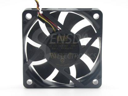 Original AVC DA06015B12M 60*60*15 mm DC 12V 0.18A 3-pin axial server inverter TV Set cooling fan