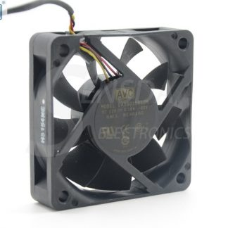 Original AVC DA06015B12M 60*60*15 mm DC 12V 0.18A 3-pin axial server inverter TV Set cooling fan
