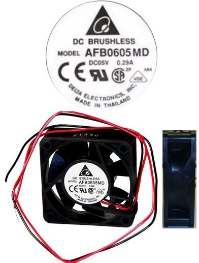 Delta AFB0605MD 5VDC  2wire Industrial Double Ball Bearing Fan