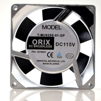 ORIX T-MU925S-51-GP DC115V 10W cooling fan